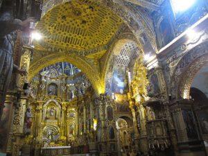 Ecuador Höhepunkte: Quito Kirche