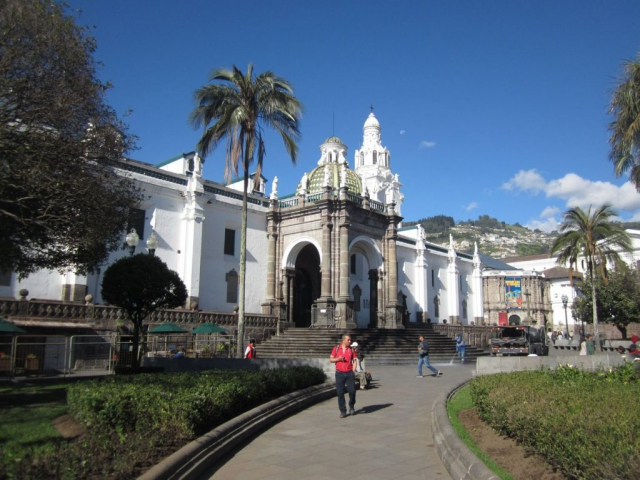 Quito Kathedrale