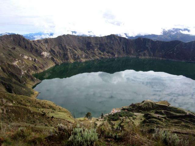 Quilotoa Krater