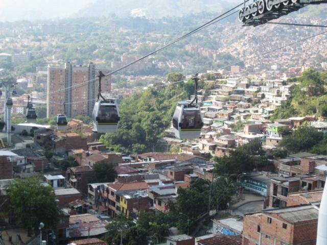 Medellin Seilbahn
