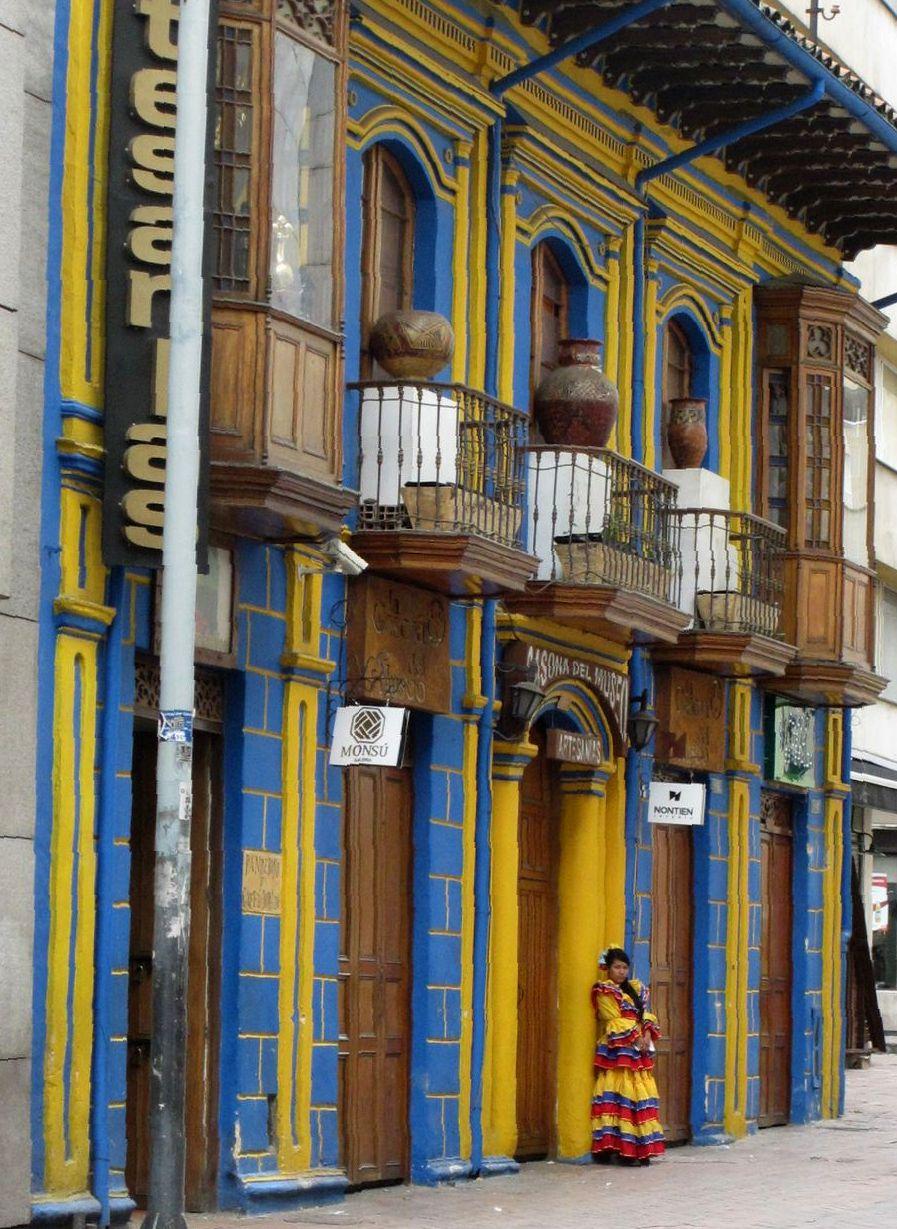 Bogota Altstadt