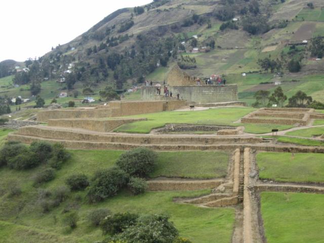 Ecuador Reise: Ingapirca